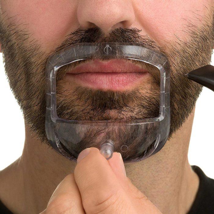 Mustache Shapers Shaving Stencils (5pcs)