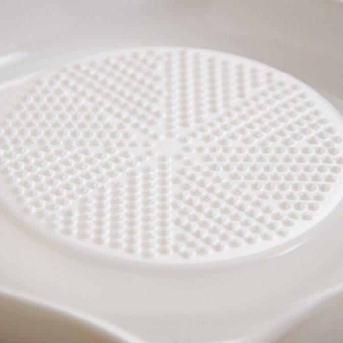 Garlic Grater Plate Ceramic Kitchen Tool
