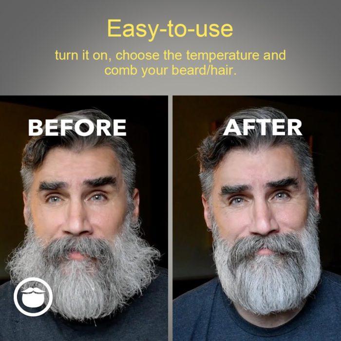 Beard Straightening Comb Electric Styler