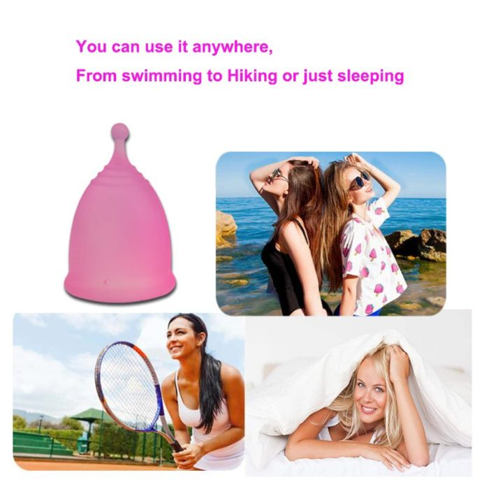 Period Cup Silicone Menstrual Cup