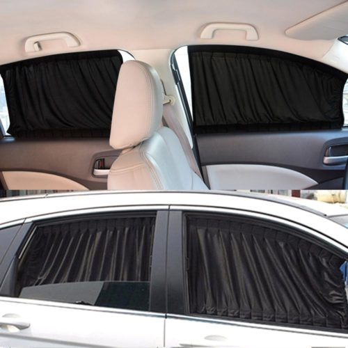 Car Window Curtains Privacy Sun Shade