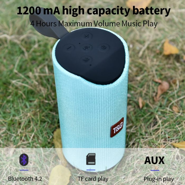 Portable Waterproof Bluetooth Speaker Device