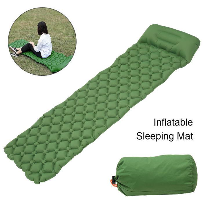 Inflatable Backpacking Sleeping Pad