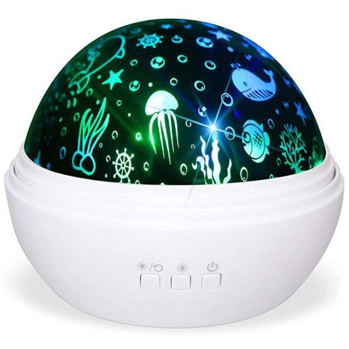 Night Light Rotating Projector