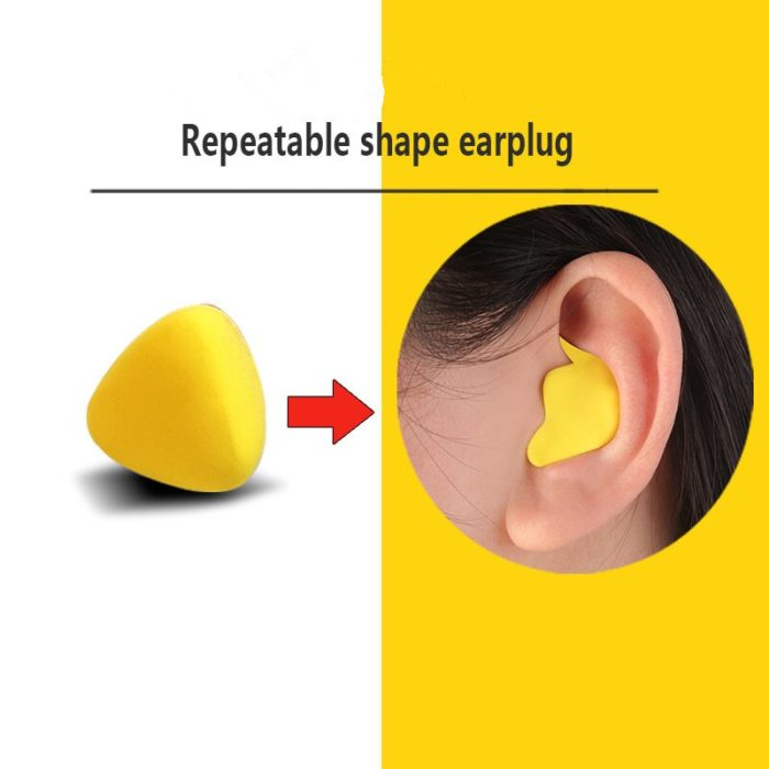 Moldable Ear Plugs Noise-Reducing Plugs