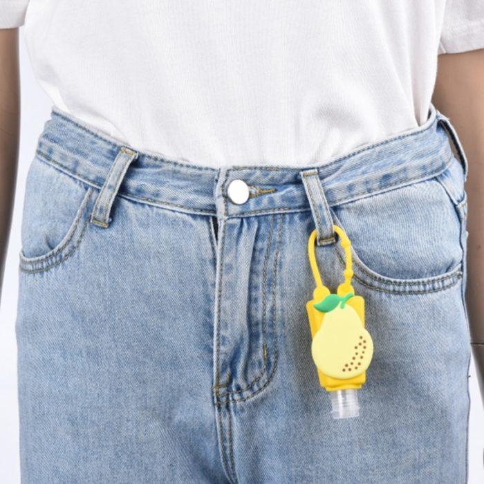 Hand Sanitizer Holder with Bottle