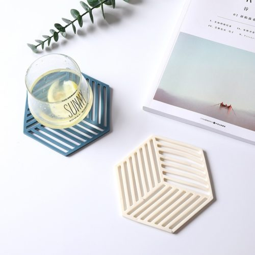Silicone Coaster Heat-Resistant Cup Mat