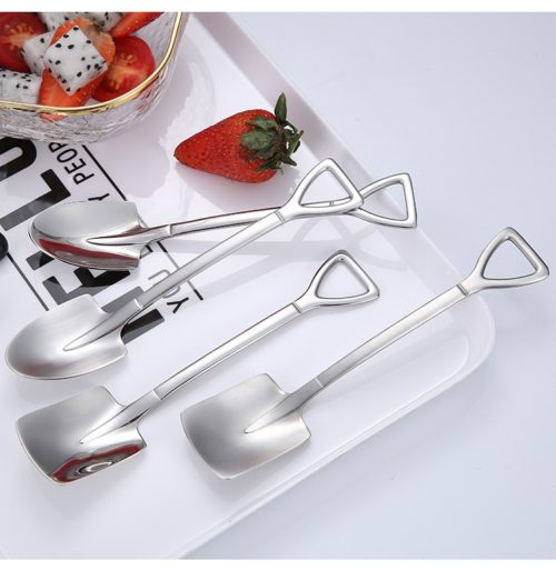 Shovel Spoon Creative Dessert Spoon