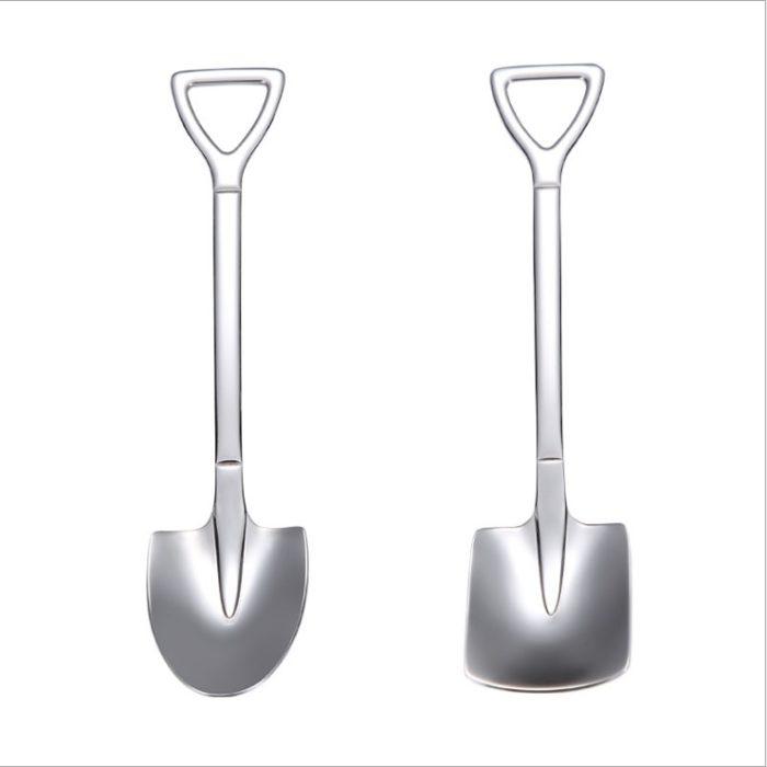 Shovel Spoon Creative Dessert Spoon