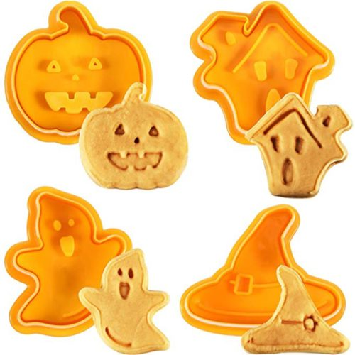 Biscuit Mold Halloween Cutters (4pcs)