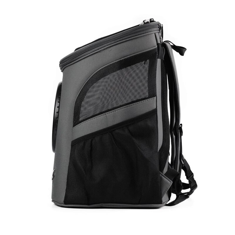 Large Capacity Pet Carrier Premium Canvas Space Capsule Kitten Cat Dog Carrier Backpack Outdoor Puppy Pet Travel Bag Breathable