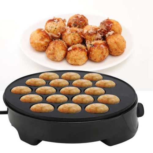Takoyaki Cooker 18-Hole Electric Pan