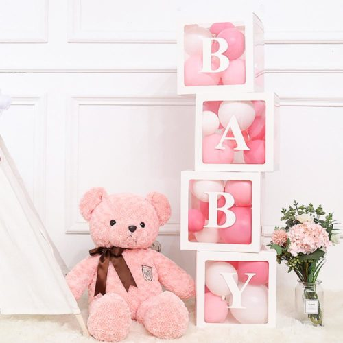 Balloon Box Creative Transparent Letter Box