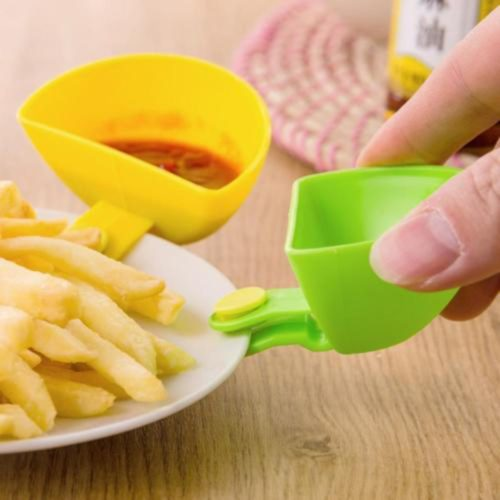 Dip Clip Dipping Sauce Side Container