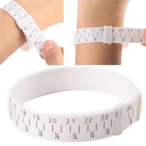 Wrist Sizer Adjustable Bracelet Measurer