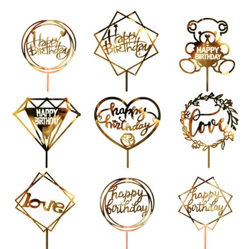 Cake Pick Acrylic Cake Topper