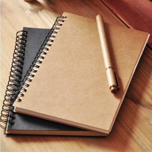 Drawing Notebook Spiral Sketch Book