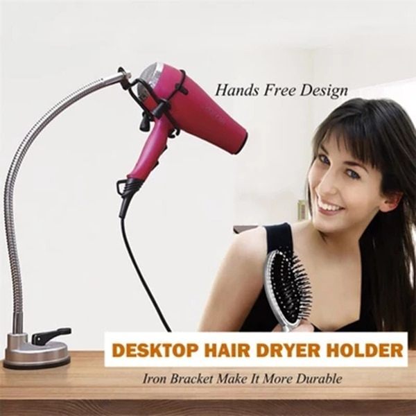 Stand for Hair Dryer Suction Mount