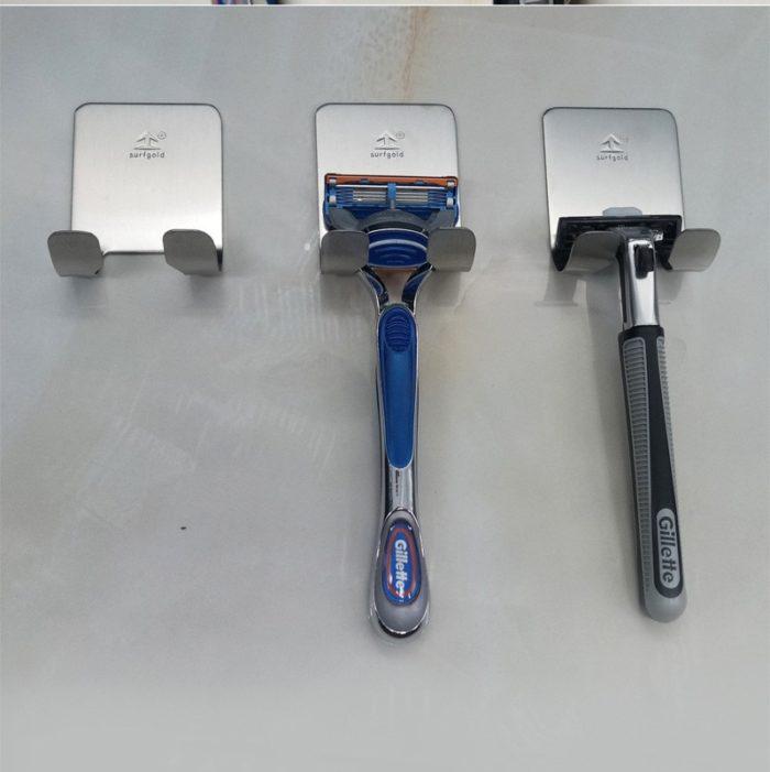 Razor Holder for Shower Stainless Steel Hanger