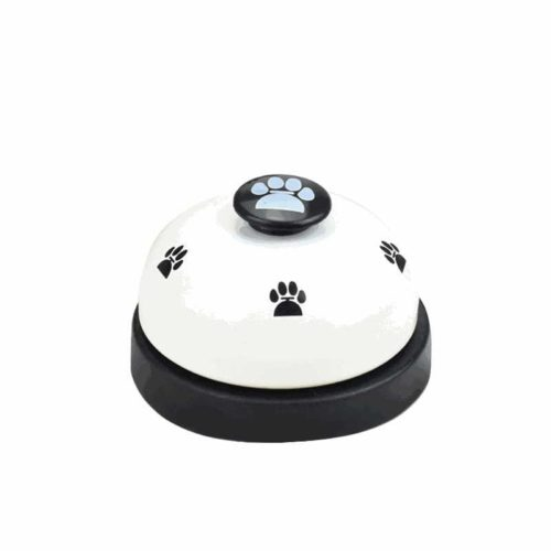 Dog Training Bell Paw Print Design