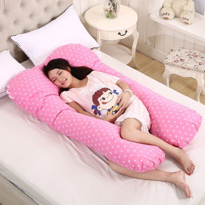 U Shaped Pregnancy Pillow Maternity Pillow