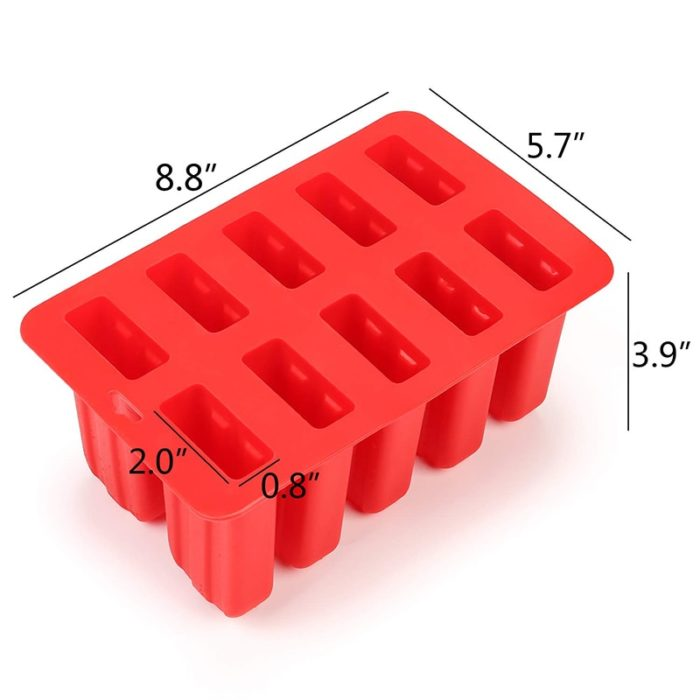 Silicone Popsicle Tray with Lid