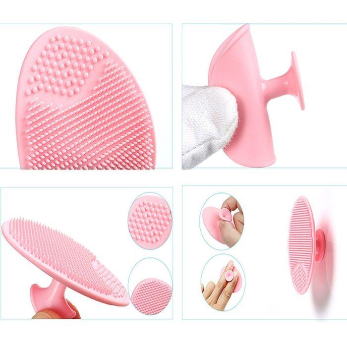 Rubber Face Scrubber Exfoliator Pad
