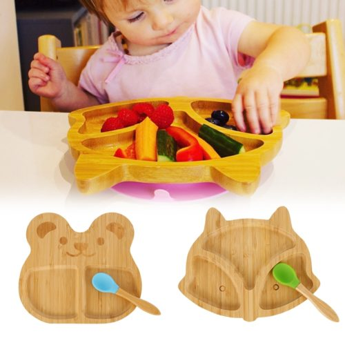 Bamboo Suction Plate Baby Plate