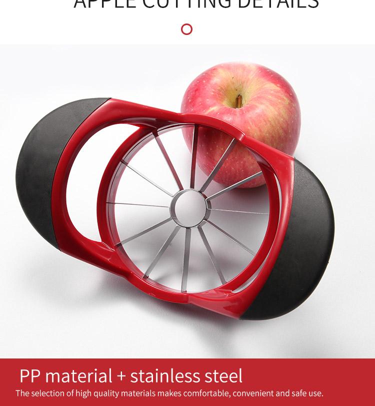 Apple Slicer Corer Pear Cutter Knife Stainless Steel Fruit Slicer Peeler Cut Tool Fruit Splitter Chopper Kitchen Gadgets Tools