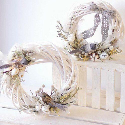Rattan Wreath Craft Christmas Decor