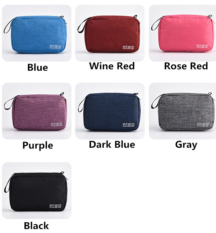 Men Women Hanging Cosmetic Bag Multifunction Travel Organizer Toiletry Wash Make up Storage Pouch Beautician Folding Makeup Bag