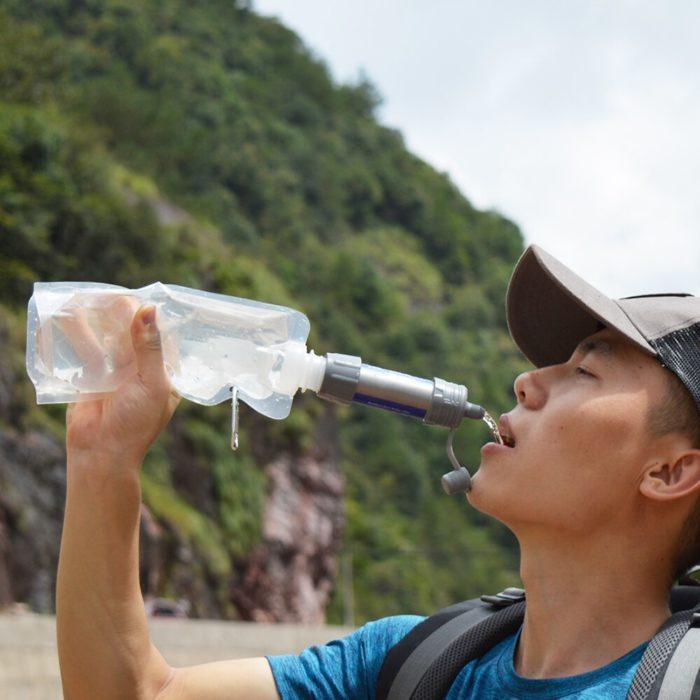 Camping Water Purifier Pocket Straw