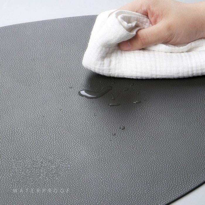 Leather Placemat Non-Slip Table Mat