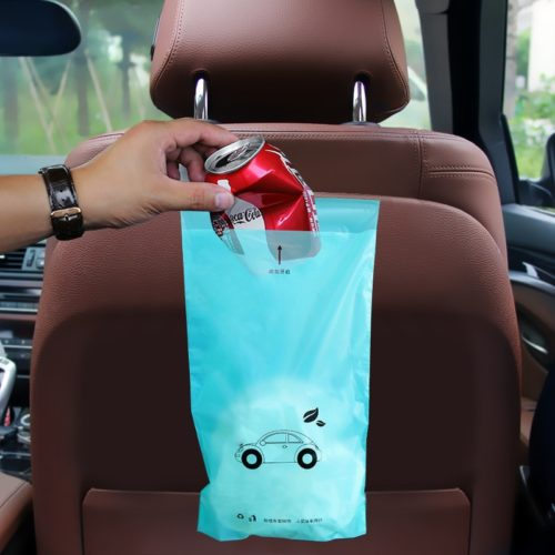 Car Garbage Bag with Self-Adhesive Flip