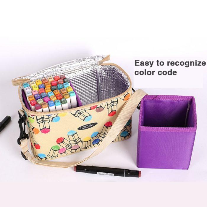 Marker Case Pen Holder Bag
