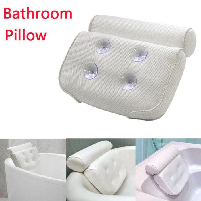 Spa Bath Pillow Tub Neck Cushion