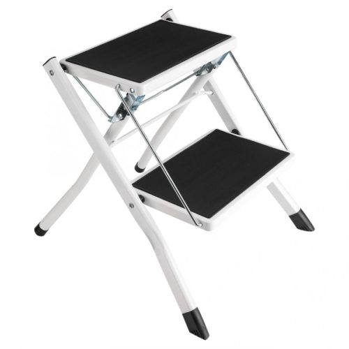 Foldable Safety 2 Step Ladder