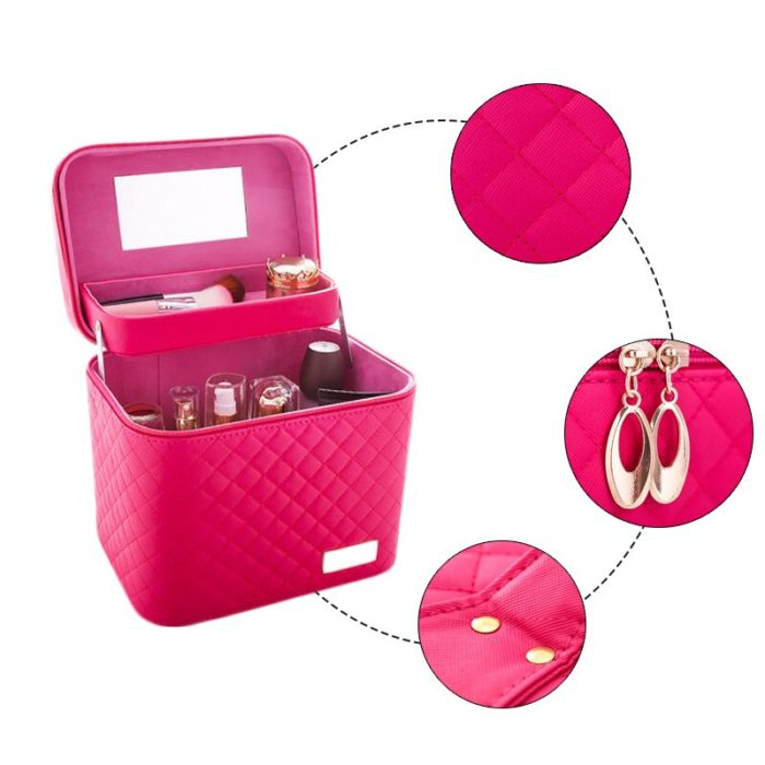 Small Makeup Box Cosmetic Bag