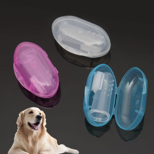 Dog Finger Toothbrush Pet Accessory