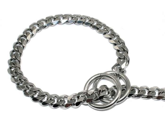 Dog Choker Chain Stainless Necklace
