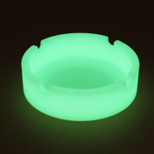 Silicone Ashtray Glow-in-the-Dark Tray