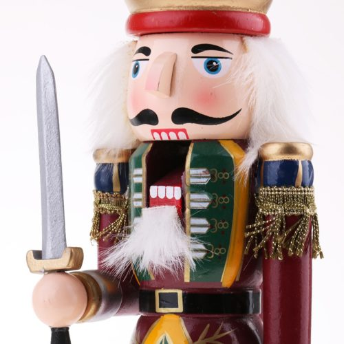 Wooden Nutcracker Soldier Figurine