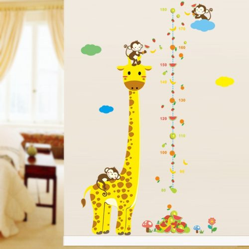 Giraffe Height Chart Self-Adhesive