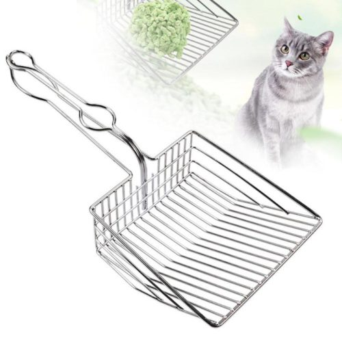 Metal Cat Litter Scoop Cleaning Shovel