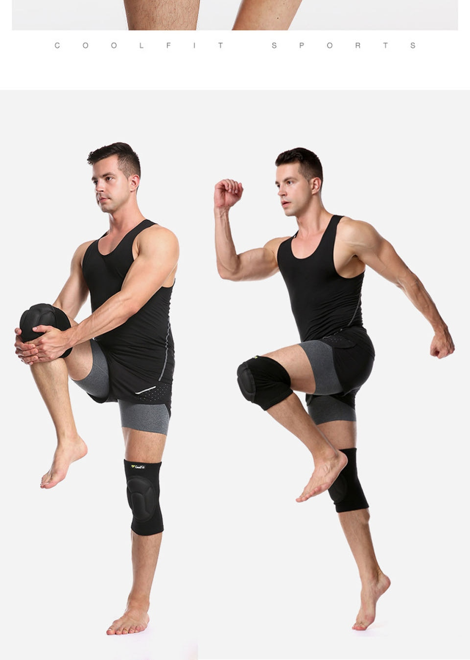 Protective Knee Pad Compression Sleeve
