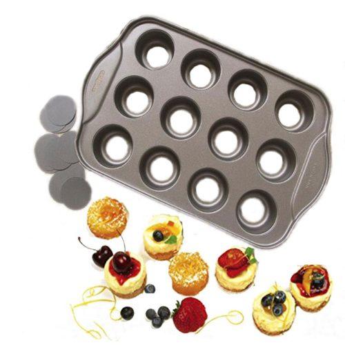 Mini Cheesecake Mould Non-Stick Tray