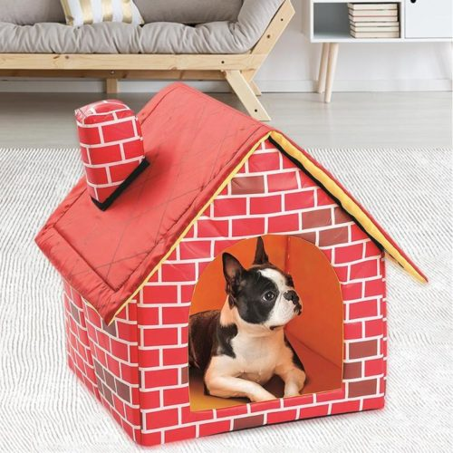 Portable Dog House Pop-Up Tent