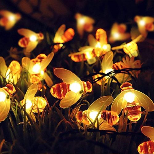 Decorative Solar Lights Bees Design