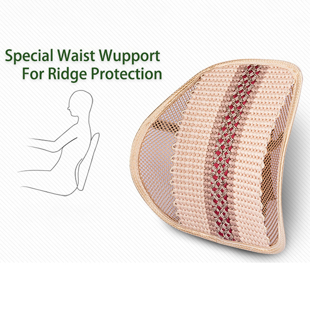 Car seat Back Support Cushion Seat Office Chair for Lumbar Support Car Office back cushion with car seat backs are cushioned