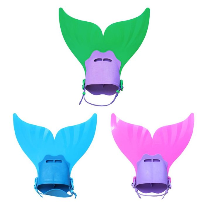 Mermaid Fin for Kids Adjustable Flippers